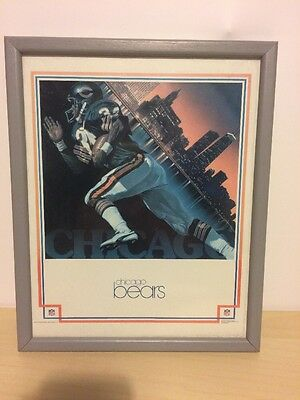 NFL Walter Payton Chicago Bears 1983 Bedroom Picture Framed Sports