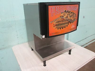 """""""star"""" H.d. Commercial S.s. Counter Top Heated Cheese & Chili Dispenser"""