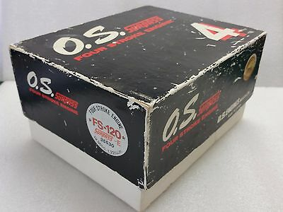 Bnib Os Fs-120 Surpass-E Four Stroke Model Aeroplane Glow Engine. Sc, Saito Etc.