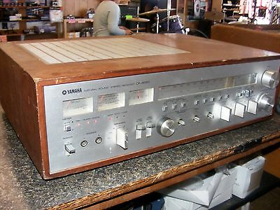 Yamaha CR-2020 Natural Sound Stereo Receiver/Amp---As Is for Parts or Repair