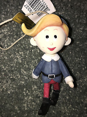 HERMEY Elf RUDOLPH AND THE ISLAND OF MISFIT TOYS Vintage CHRISTMAS TREE ORNAMENT