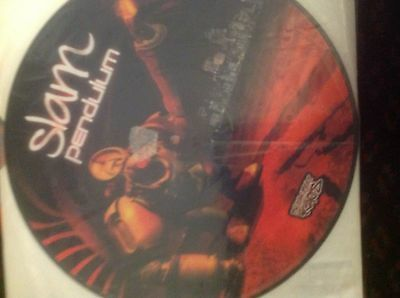 "Pendulum- Slam / Out Here 12"" Picture Disc Vinyl Drum and Bass Breakbeat Kaos"