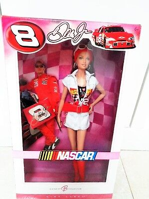 2006 Pink Label Barbie Dale Earnhardt Jr. Nascar Doll New In Box