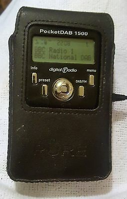 PURE PocketDAB 1500 Rechargeable Personal DAB/FM Radio
