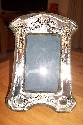 Silver Vintage Photo Frame London H/m 1962. Very Ornate Detail. Stunning!