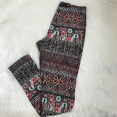 French Laundry Leggings Printed Multicolored Women's Full Length Size Small