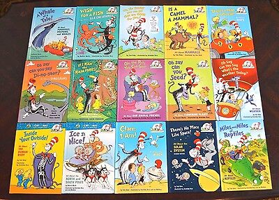 Set 15 HB Dr. Seuss The Cat in the Hat's Learning Library Bookscience teacher L2