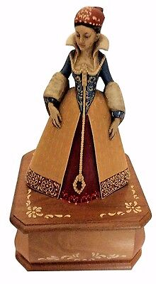 Anri Reuge Swiss Musical Movement Music Box Anne Boleyn Tudor - C