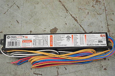Single (1) GE 74463 GE T8 Multi-Volt UltraMax Ballast  (GE-432-MV-N)