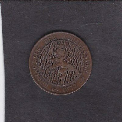 Holland 2.1/2 cents 1877