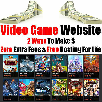 Website - Internet Business - Online Game Products - Fully Built - For Sale