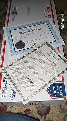 Cabbage Patch Soft Sculpture Birth Cert/adopt Paper 81 New Ears Boy Or Girl