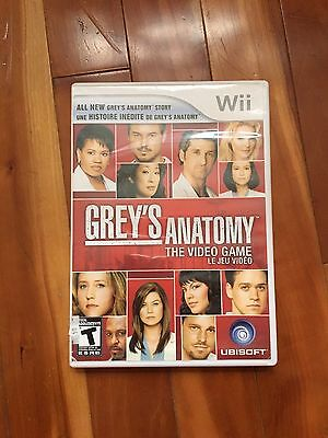 Grey's Anatomy: The Video Game (Nintendo Wii, 2009)