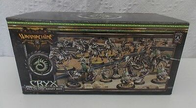 Warmachine Cryx All in One Army Box PIP 34126 OOP - NIB