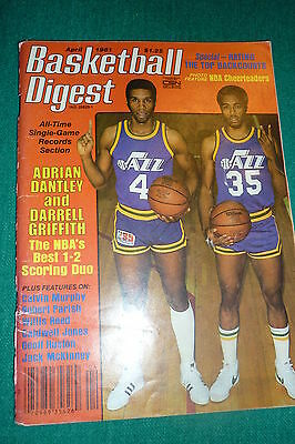 Basketball Digest-April 1981 Adrian Dantley/Darrell Griffith Cover