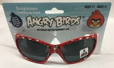 Angry Birds Kids Shatter Resistant Sunglasses 100% Uv Protection
