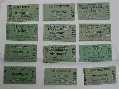 NSW railway tickets  YASS JUNCTION TO MELBOURNE  - economy (3)