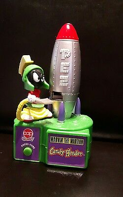 Marvin The Martian Pez dispenser working perfectly