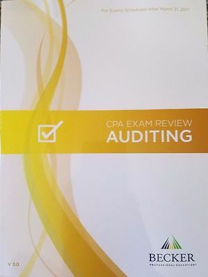 {NEW} Becker CPA Exam Review - AUD [Auditing] V3 2017 VIDEOS, MCQS and SIMS