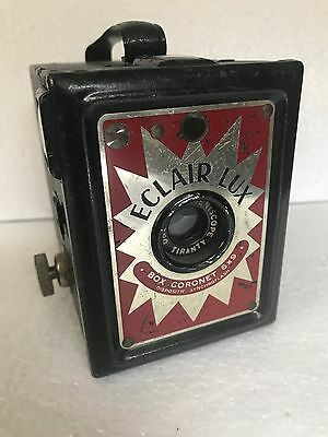 Eclair Lux Box camera 120 film Coronet made in France 1950's