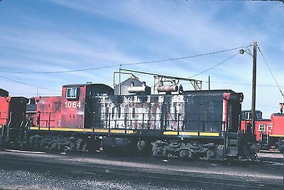 CN Canadian National GMD-1 1064  roster - Original Kodachrome slide