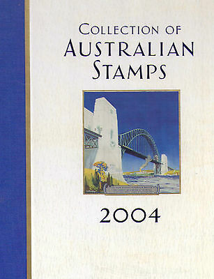 2004 Collection of Australian Stamps in Album complete with stamps FV $56.45