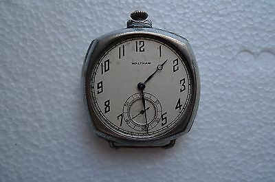 Waltham Pocket Watch For Parts Or Repair