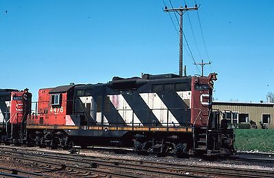 CN GP9 4476  roster - Original Kodachrome slide