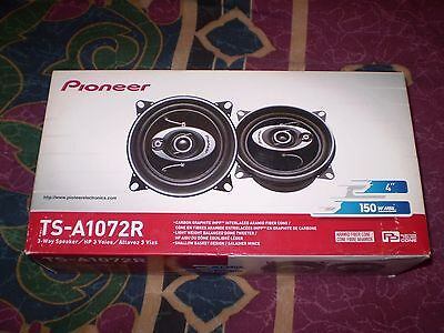 Pioneer TS-A1072R 3-Way 4in. Car Speakers Lowest Price!