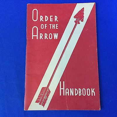 Boy Scout Order Of The Arrow Handbook March 1950 Printing
