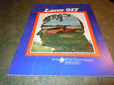 Laser 917 automobile sports car booklet collectible