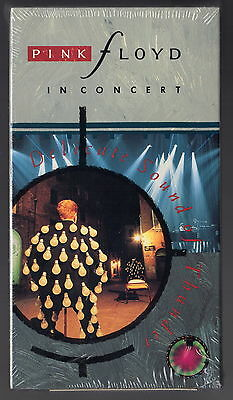 PINK FLOYD IN CONCERT NEW SEALED VHS Delicate Sound Of Thunder Hi-Fi