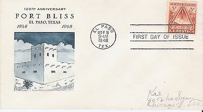 Scott #976 - Fort Bliss FDC - unknown  cachet