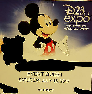 D23 Expo 2017 Saturday Pass