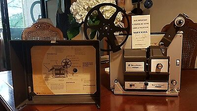 Bell and Howell Super 8 and 8 mm projector working condition bulb is working new
