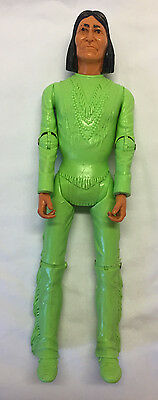 Vintage Marx Canadian Version Johnny West Geronimo Lime Green