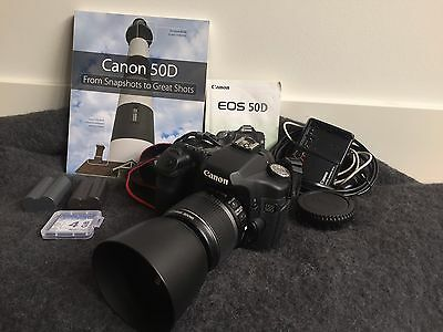 Canon EOS 50D 15MP DSLR Camera + 18-55mm Lens, lots of extra's,  Fantastic Kit