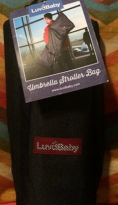 Luvdbaby Umbrella Stroller Bag for Airplane Gate Check In - Travel Cover