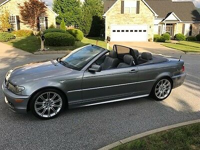 2005 BMW 3-Series Convertible 2005 BMW 330CI with rare ZHP package