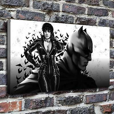 """12""""x20""""Catwoman Selina Kyle Paintings HD Print on Canvas Home Decor Wall Art"""