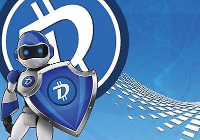 100 Digibyte coins sent fast to your wallet (100 DGB)