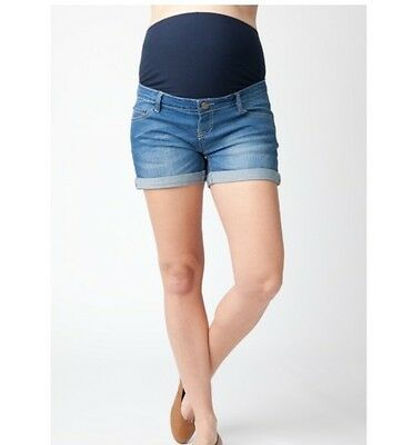 RIPE Maternity Shorty Shorts Denim Size XSmall $89.95rrp