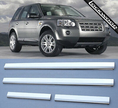 Land Rover Freelander 2 Stainless Sill Protectors Kick Plates
