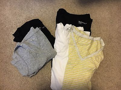Lot Of Gap Maternity Summer Clothes - Tshirts And Tank Tops Size Small