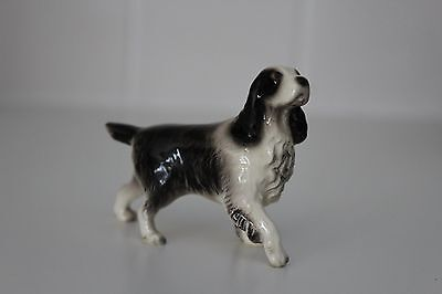 Hager Renaker Springer Spaniel Dog Bone China Figure