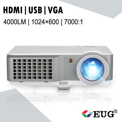 HD LED Multimedia Projector Home Cinema Theater Movie Game Gift HDMI USB VGA AV
