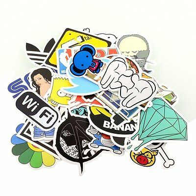Sticker Pack for Skateboard Snowboard Vintage vinyl sticker graffiti