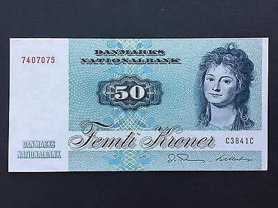 Denmark 50 Kroner P50f Dated 1984 Uncirculated UNC aUNC