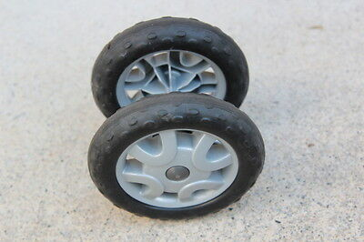 Peg Perego ARIA Stroller Replacement Front Wheel - TESTED w/ FREE SHIP