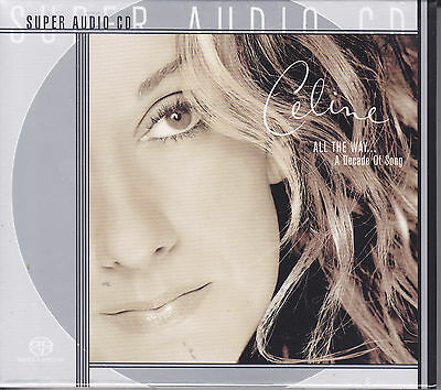 Celine Dion All The Way A Decade Of Song Limited Numbered Multi-Ch 5.1 SACD CD